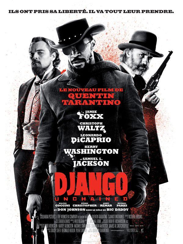 Django Unchained est un film de Quentin Tarantino avec Jamie Foxx, Christoph Waltz. Synopsis : Dans le sud des États-Unis, deux ans avant la guerre de Sécession, le Dr King Schultz, un chasseur de primes allemand, fait l'acquisition de Django, u
