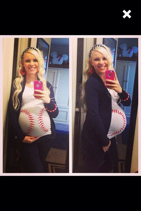 Hey, I found this really awesome Etsy listing at https://www.etsy.com/listing/203518022/baseball-maternity-shirt-baseball-baby