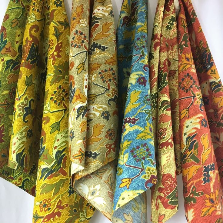 Lot of 6 Riverdale Fabrics Caravan Decorator Showroom Fabric Samples 26 x 26    #Riverdale