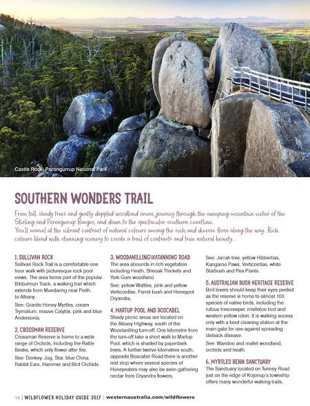 Tourism Western Australia - Wildflower Guide 2017
