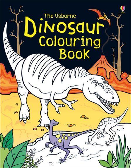 Dinosaur Colouring Book 447x574