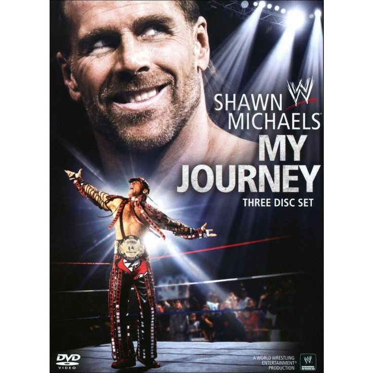 WWE: Shawn Michaels - My Journey [3 Discs]