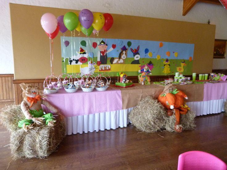 Decoración para fiestas de cumpleaños.