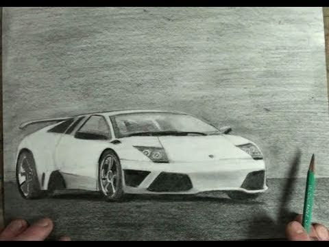 How to Draw Lamborghini Gallardo Step by Step Car Drawing