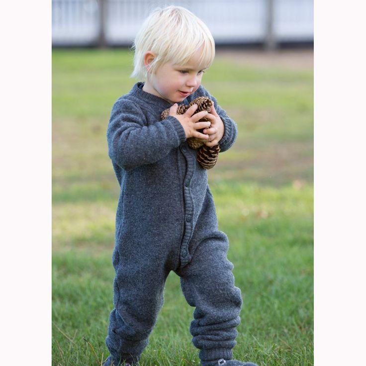 Super Soft Merino Wool Fleece Overall / Jumpsuit 0-4 years: Amazon.co.uk: Clothing (Lana Bambini) Joha £45 supercute