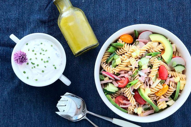 Tradisjonell og veldig god pastasalat | Marked -