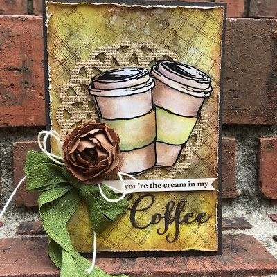 Happy fall y'all! And happy Coffee Lovers Blog Hop to you! I always get so excited when another coffee themed card making celebration c...