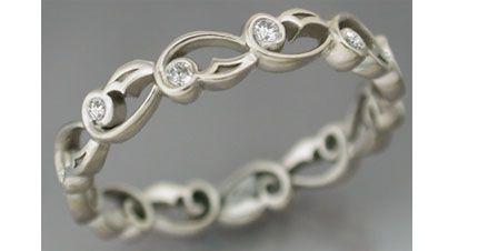 Unusual ringWedding'S Band Jpg 430 226, Chains, 16 Diamondrings, Eternity Rings, Wedding Bands, Wedding Rings, Floral Rings, Rings Ideas, Engagement Rings