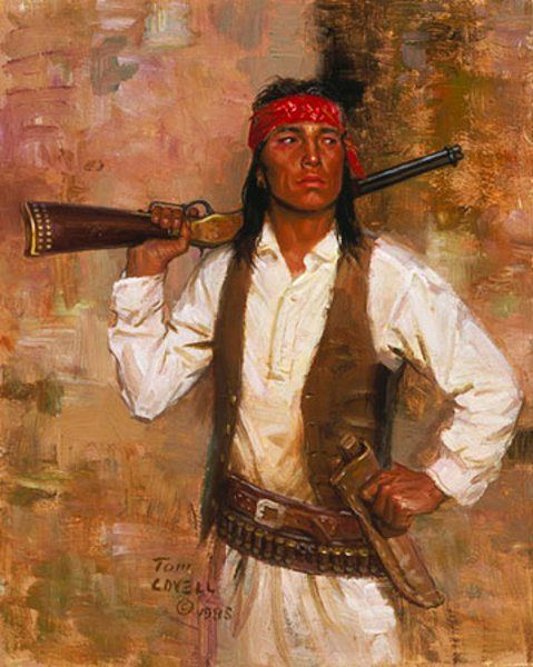 Chiricahua Scout - Tom Lovell