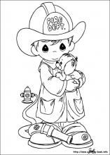 Love Coloring pages: Drawings For, Firefighter, Coloring Pages, Precious Moments, Card Ideas, Dibujos Precious Moments, Printable Coloring, Digistamp