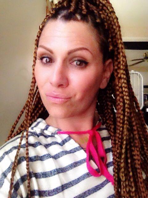 Caucasian Women With Box Braids Tumblr
