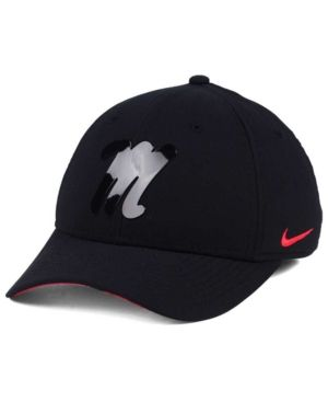 Nike Ole Miss Rebels Col Cap - Black L/XL