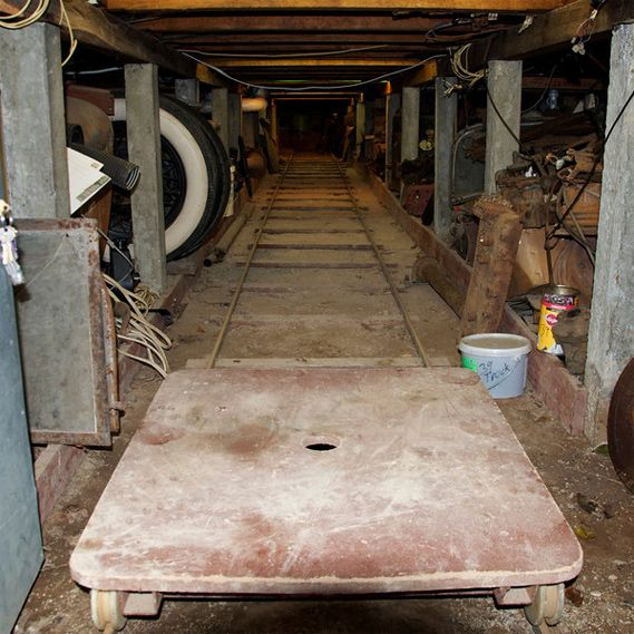 Awesome Idea For Unused Space Under A House Crawl Space Train