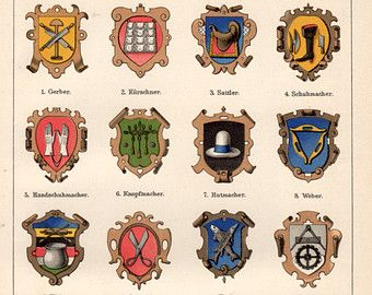 Medieval Guild Signs 56 best images about I...