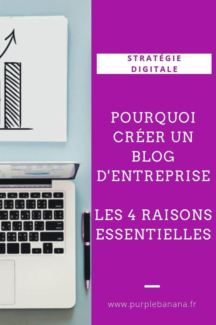 Pourquoi Creer Un Blog D Entreprise Les 4 C Blog Creer Un Blog