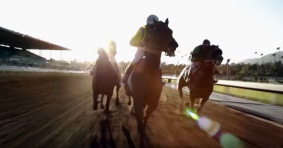 'Luck,' HBO's horse racing drama from Michael Mann, David Milch and starring Dustin Hoffman, is due in January - and the network showed its first 'Luck' trailer ahead of the 'Boardwalk Empire' season 2 premiere.