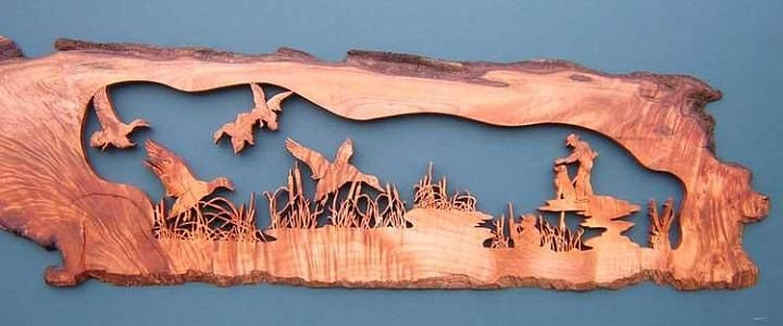 Scroll saw art by terry foltz cool stuff about hunting