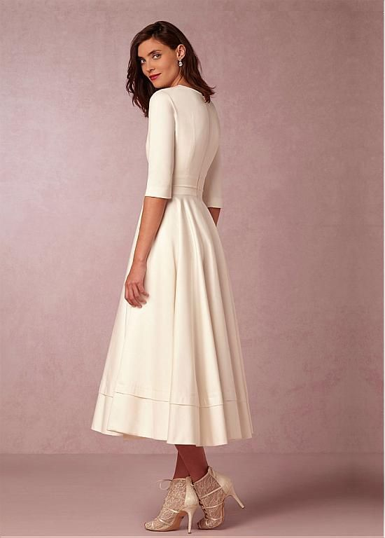 15 besten Kleid standesamt Bilder auf Pinterest   Feminine mode ...