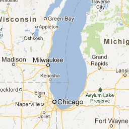 Roadside Attractions Map - Michigan