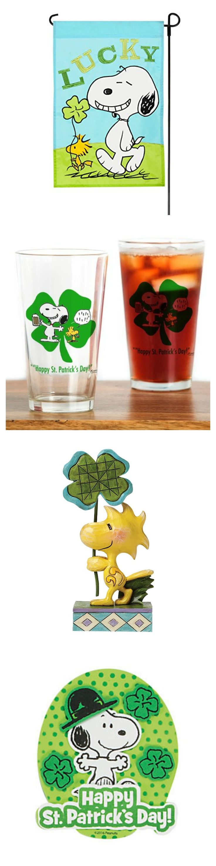 It's your lucky day, Snoopy! Shop our round-up to find Peanuts St. Patrick's Day memorabilia for your celebration. Start shopping via CollectPeanuts.com.