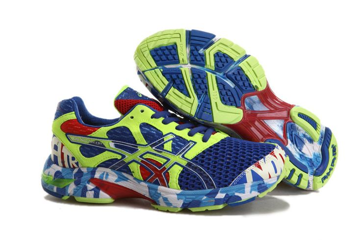 Cheap 20USD off to Sale Asics Gel Noosa TRI 7 Mens Blue Neon Volt Dark Blue with Western Union    #Blue #Womens #Sneakers