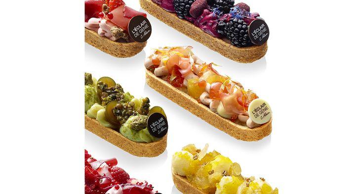 Mi-éclair et mi-tarte aux fruits, la Barlette est la nouvelle pâtisserie imaginée par le chef Christophe Adam. Ce gâteau est en vente dans les boutiques l'Eclair de génie pour 7 euros.