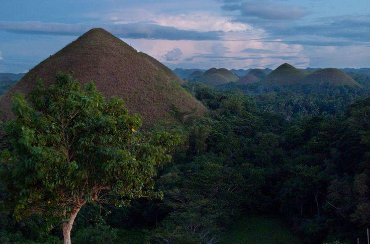 Шоколадные холмы, Филиппины. - Chocolate Hills, Philippines