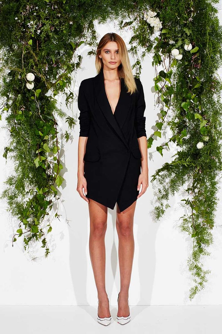 Maurie and Eve | E-Boutique | SERGIO JACKET DRESS - PRE ORDER