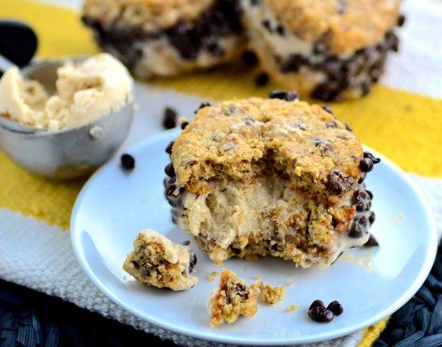 May I Have That Recipe | Cashew Ice Cream Sandwiches (Vegan and Gluten Free !) | http://mayihavethatrecipe.com