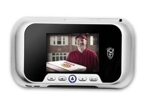 Digital Door Viewer Adds Surveillance and Doorbell Functions to Your Peephole (1)