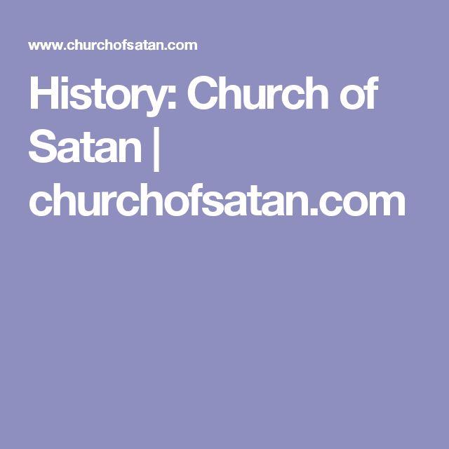 History: Church of Satan | churchofsatan.com