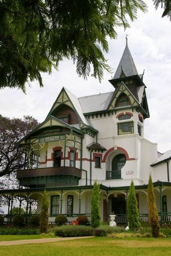 "Erasmus Castle, Pretoria, South Africa (commonly referred to as the ""spook house"")"