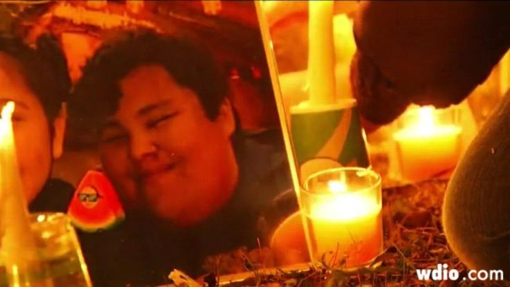 Teen boy fatally shot by police on reservation; had been home with flu before stepping outside with butcher knife