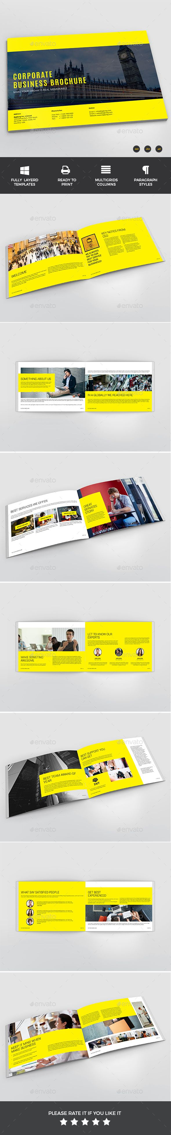InDesign Brochure  Template • Only available here ➝ http://graphicriver.net/item/brochure/16558530?ref=pxcr