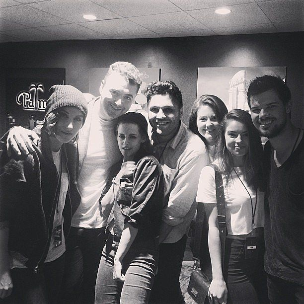 Kristen Stewart and Taylor Lautner at Sam Smith's LA Concert | POPSUGAR Celebrity#photo-36747574#photo-36747574#photo-36747574