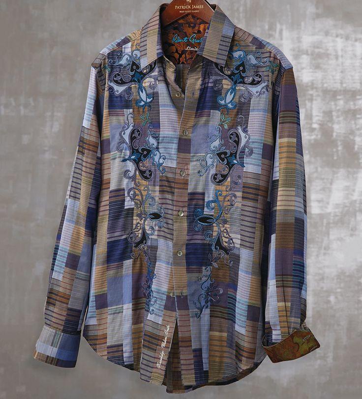 Robert Graham - Bill Scott Limited Edition Shirt, Style RF141602, 765 Shirts Made, Fall 2014