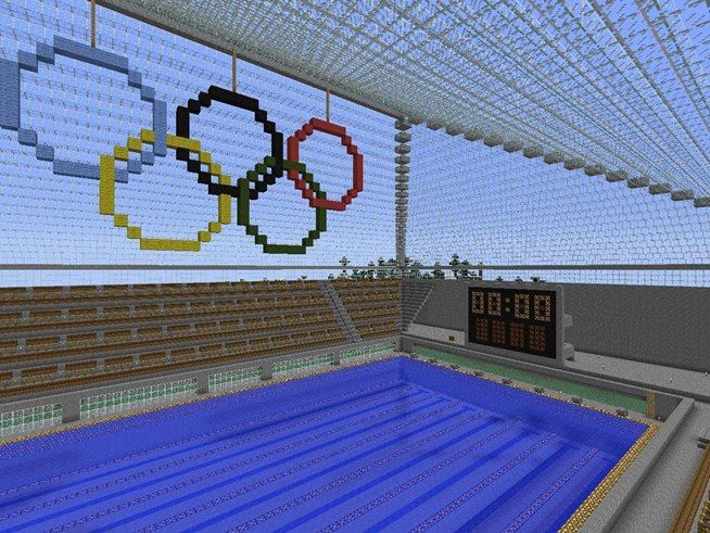 Olympic Pool Minecraft Ideas Pinterest Pools
