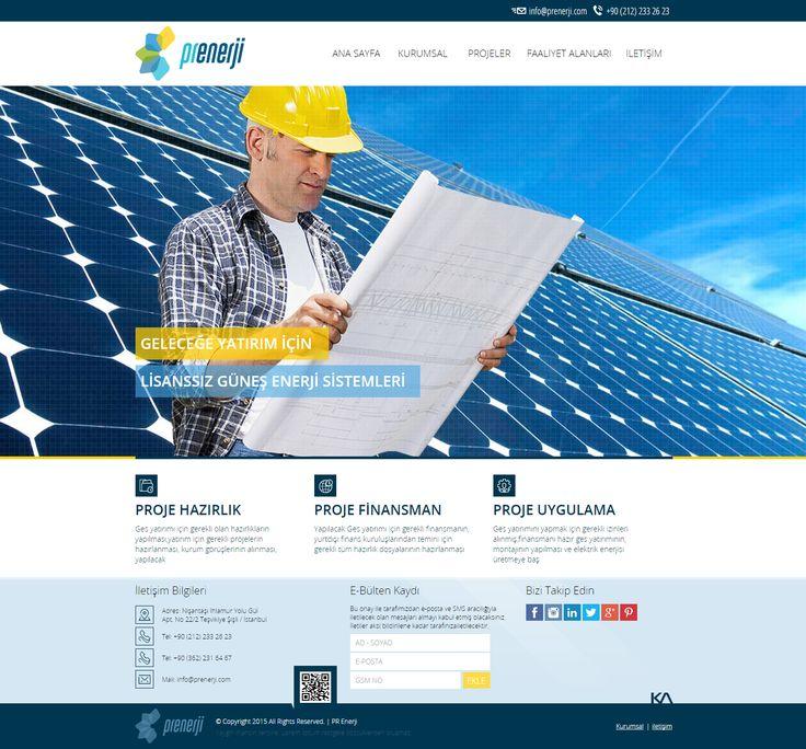 Pr Enerji   Web Design
