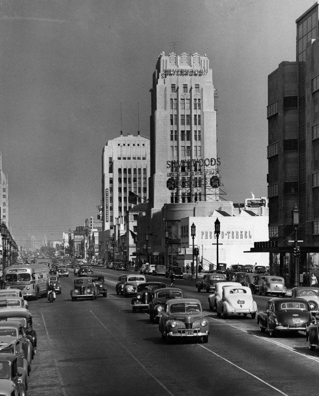 Wilshire Boulevard. 1949
