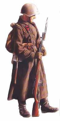 Caporal, division d'infanterie, 1941