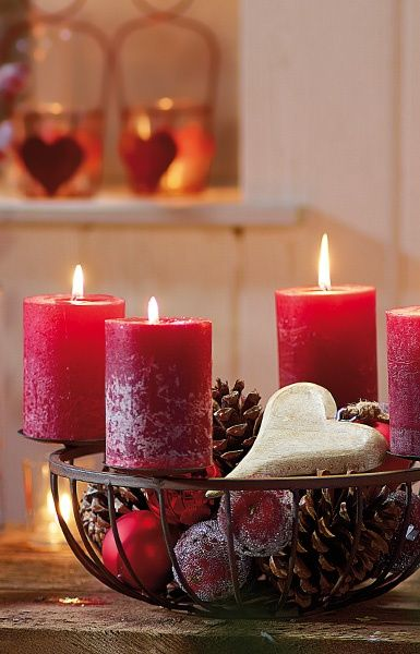 Red candles!