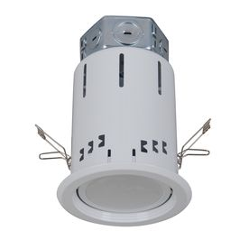 Utilitech Pro�White 4-In Integrated LED Remodel Recessed Ceiling Lighting Kit Lowes Item# 403328 Model # 18290-00 $44.98