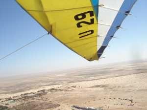 Flight over Sahara  by Joanna Łukasiewicz