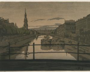 Petersburg. Kryukov Canal, 1910