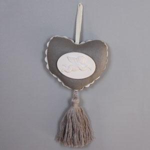 Coeur à suspendre parfumé - décoration intérieur charme - coeur de porte à suspendre
