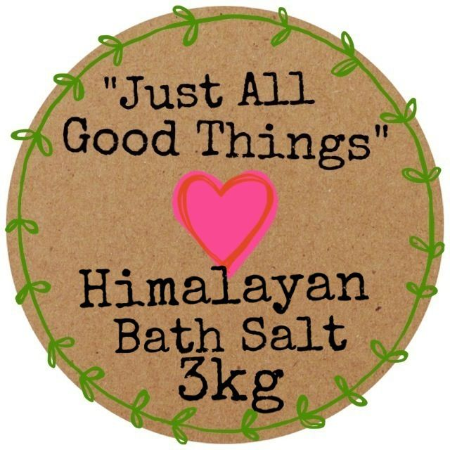 Himalayan Bath Salt available in 3kg or 6kg
