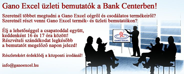 Prezentációk a budapesti Gano Excel központban