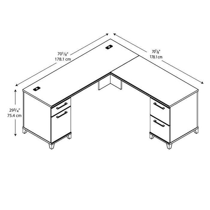 Enterprise L Shape Executive Desk In 2020 L Shaped Executive Desk Executive Desk Desk