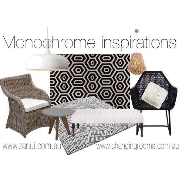 """""""Monochrome Inspirations"""" by stylecounsel & changingrooms on Polyvore"""