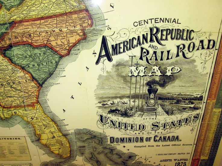 Best Old Maps Images On Pinterest Old Maps Seattle And - Old us railroad map